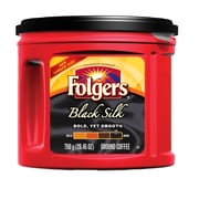 Folgers Black Silk Ground Coffee, 750g (2550001312)