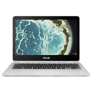 "Asus Chromebook Flip C302CA-DHM4 12.5"" Touch Screen, 900 MHz Intel Core m3-6Y30, 64 GB eMMC, 4 GB LPDDR3, Chrome OS"