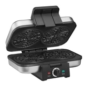 "Cuisinart® Stainless Steel 4"" Pizzelle Press, Black Stainless (WM-PZ10)"