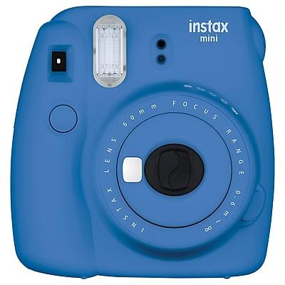 Fujifilm Instax Mini 9 Camera Kit, 60 mm, Smoky White