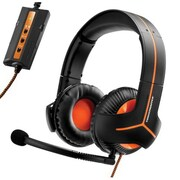 Guillemot Thrustmaster® 4060088 Y-350CPX 7.1 Powered Wired Over The Head Stereo Headset W/Microphone