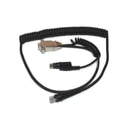 Honeywell® 42205895-01E 7.7' 6 Pin Mini DIN To 9 Pin RS-232 Male/Female Data/Power Cable for HHP 5800 Scanners