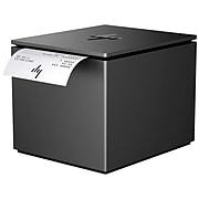 HP® ElitePOS Monochrome Direct Thermal Printer, Ebony Black (1RL96AT)