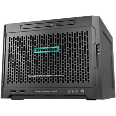 HP® ProLiant MicroServer Gen10 8GB 4TB HDD AMD Opteron X3421 Ultra Micro Tower Server, 878488-S01