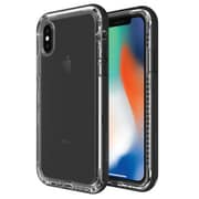 LifeProof NEXT Carrying Case for Apple iPhone X, Black Crystal (77-57186)