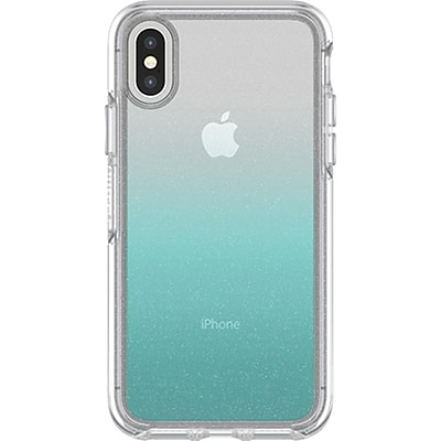 Otter Box® Symmetry Clear Graphic Carrying Case for Apple iPhone X, Aloha Ombre (77-57122)