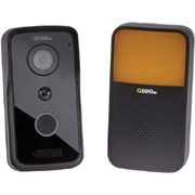 Q-See® QCW1000BC Wi-Fi Doorbell Camera and Chime, Night Vision, Black