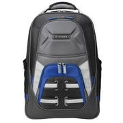 "Targus® DrifterQuest™ Black/Gray/Blue Expandable Checkpoint-Friendly Backpack for 16"" Laptops (TSB933US)"