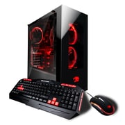 iBuypower-PC de jeu Element CA5204EI, Core i7-8700K, 3,7GHz, DD 3To + SSD 240Go, DDR4 16Go, NVIDIA GeForce GTX1080Ti
