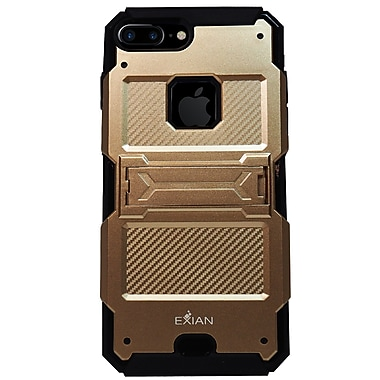 Exian iPhone 8 Plus / 7 Plus Armored Case with Stand
