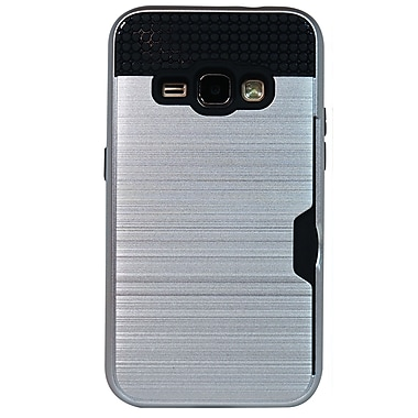 Exian Samsung Galaxy J1 2016 Armored Case with Card Slot