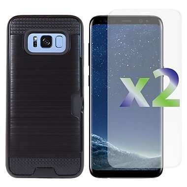 Exian Samsung Galaxy S8 Plus Armored Case with Card Slot
