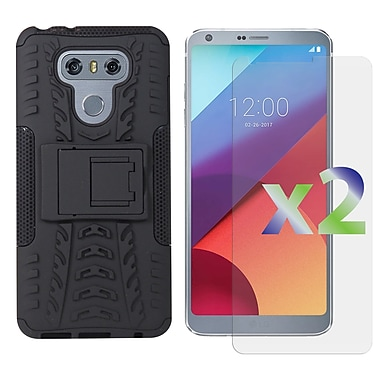 Exian LG G6 Armored Case with Stand