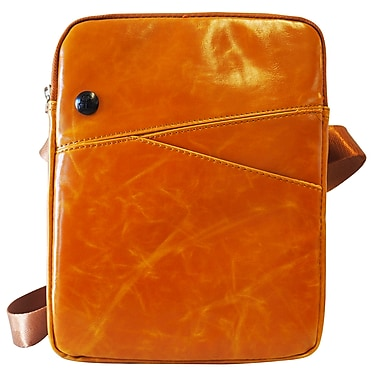 Exian PU Leather Carrying Zippered Bag