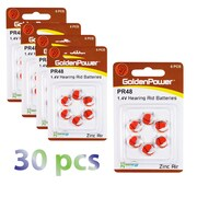 Exian Lithium Hearing Aid Battery PR48/PR13/P13, 30/Pack (IB038-PK30)