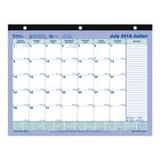 Blueline® 2018/2019 Academic Monthly Desk Pad Calendar (CA181721B)
