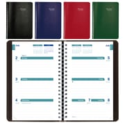 "Blueline® 2018/2019 Academic Weekly Planner, 8"" x 5"", Assorted Soft Vicuana Covers, English (CA101.ASX)"