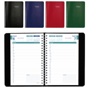 "Brownline® 2018/2019 Academic Daily Appointment Planner, 8"" x 5"", English, Assorted Colours (CA201.ASX)"