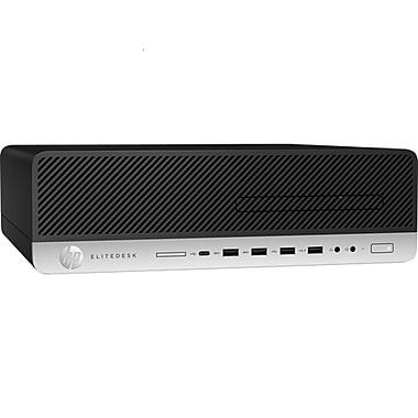 HP EliteDesk 800 G3 1FZ09UT#ABA SFF Desktop Computer, 3.2 GHz Intel Core i5-6500, 512 GB SSD, 8 GB DDR4-2400 SDRAM