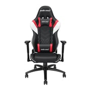 Andaseat Gaming Assassin series Ergonomic High-back Recliner Office Desk Chair, Black/White/Red (AD4-03-BWR-PV)