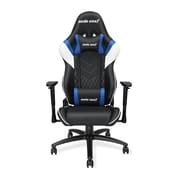 Andaseat Gaming Assassin series Ergonomic High-back Recliner Office Desk Chair, Black/White/Blue (AD4-03-BWS-PV)