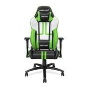 Andaseat Viper Series Ergonomic High-Back Recliner Office Chair Gaming E-sports Chair, White/Black/Green (AD7-05-BWE-PV)