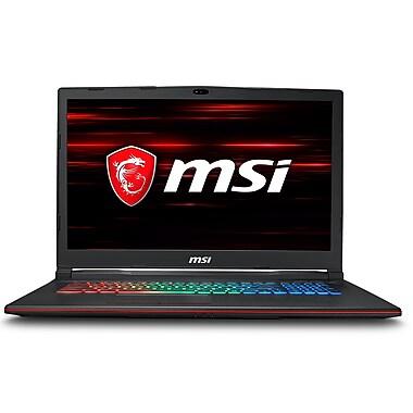 [PRÉVENTE] MSI – Leopard GP73 8RE-080CA 17,3 po, Core i7-8750H 2,2 GHz, dd 1 To + SSD 256Go, DDR4 16 Go, NVIDIA GeForce GTX1060