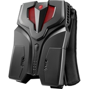 MSI VR ONE Backpack 7RE-065US Gaming Computer 2.90 GHz Intel Core i7-7820HK, 512 GB SSD, 16 GB DDR4 GeForce GTX 1070, Windows 10