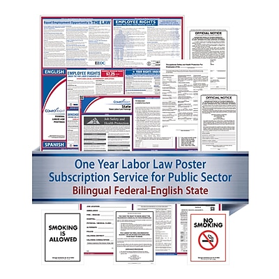 ComplyRight Federal (Bilingual), State & Public Sector (English) - Subscription Service, Indiana (U1200CBOPSECIN)