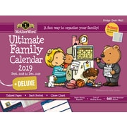 motherword 20182019 deluxe ultimate family fridge calendar 18 x 13 1
