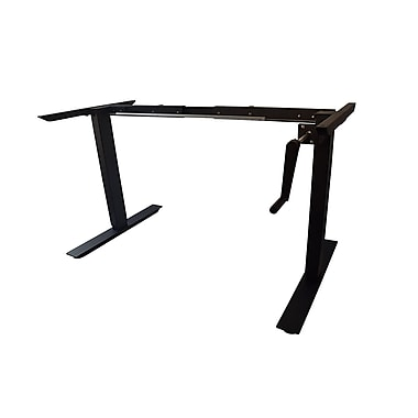 AnthroDesk Crank Adjustable Standing Desk Frame