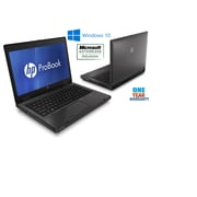 HP - Portatif ProBook 6470B 14 po remis à neuf, 2,6 GHz Intel Core i5-3320M, DD 750 Go, 16 Go DDR3, Windows 10 Pro