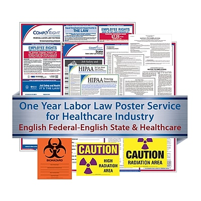 ComplyRight Federal, State & Healthcare (English) Subscription Service, Wyoming (U1200CHLTHWY)