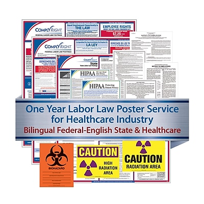 ComplyRight Federal (Bilingual), State & Healthcare (English) - Subscription Service, Puerto Rico (U1200CBOHLTHPR)