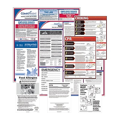 ComplyRight™ Federal & State Restaurant Poster Kit, SC - South Carolina (E50SCREST)