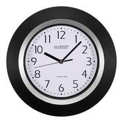 La Crosse Technology 10 Inch Analog Atomic Black Wall clock (404-1225)