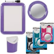 Merangue Plastic Locker Value Pack, Assorted