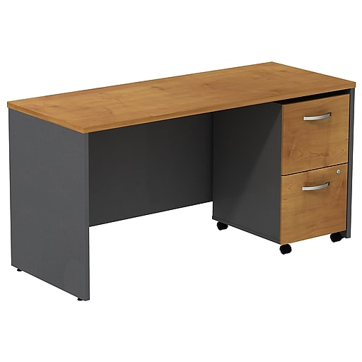 Bush Business Westfield 60w Desk Credenza Shell With 2