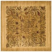 Safavieh Lyndhurst Square Area Rug, 8' x 8', Beige/Multicolour (LNH224A-8SQ)