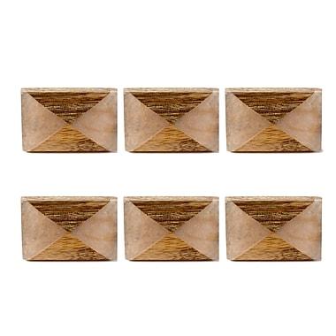 Asher Resin Wood Door Knob, 6/Pack (4156-BM2616-00)