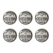"""1.5"""" """"Antique Paris""""Ceramic Door Knob, 6/Pack (4156-TX7837-00)"""