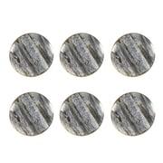 """1.5"""" Metal Bone Door Knob,  Grey, 6/Pack (4156-WX3802-00)"""