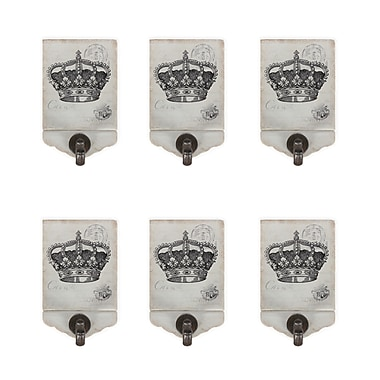 Royal Crowns Decor With Hook, 6/Pack (6821-AM6066-00)