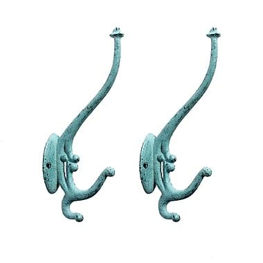 Elton Wall Hook, Light Blue, 2/Pack (7168-PX1557-LB)