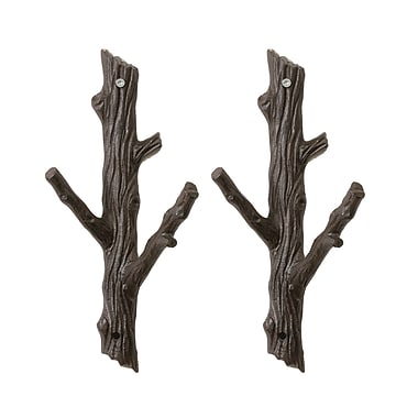 Tree Branch With Hooks