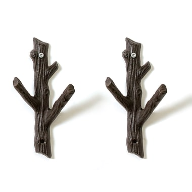 CJ Marketing Tree Branch With Hooks, Small, 2/Pack (8811-T1510T-0S)