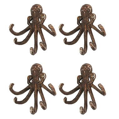 Octopus With 5 Wall Hook, 4/Pack (9044-WX1408-00)