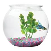 Tom Aquatics Plastic Goldfish Bowl, Round, 1.5 Gallon (ATOBL15RPET)
