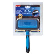 Four Paws Ultimate Touch Pro 2 in 1 Brush with Shed 'N Blade