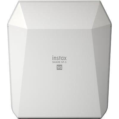 Fujifilm instax SHARE SP-3 Zero Ink Printer, Color, Photo Print, Portable, White